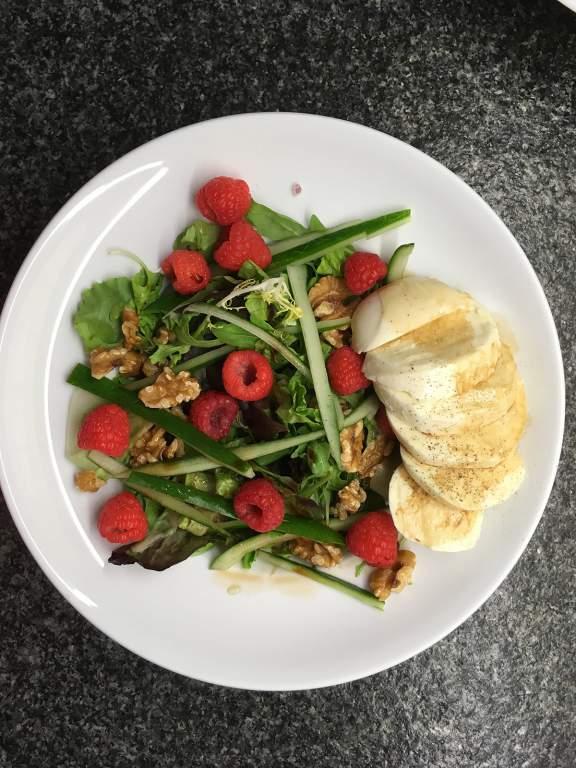 206 Salade met Frambozen resize